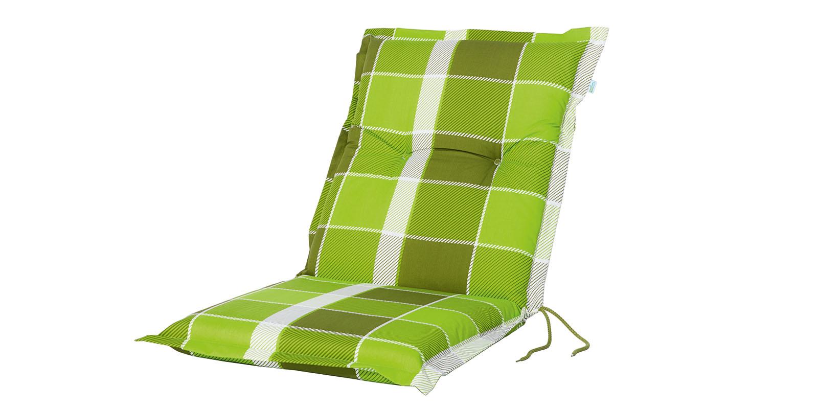niedriglehner polsterauflage sitzauflage gr n sitzkissen. Black Bedroom Furniture Sets. Home Design Ideas