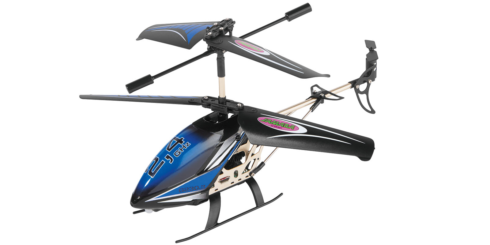 mini helikopter 2 4 ghz gyro blau ferngesteuert helicopter. Black Bedroom Furniture Sets. Home Design Ideas