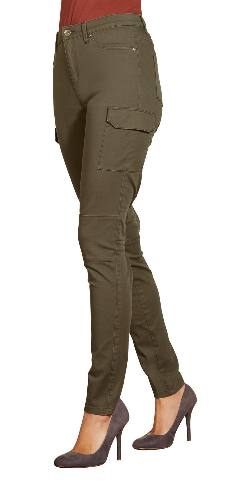 khaki hose damen damen hose khaki fashion korb whole sale. Black Bedroom Furniture Sets. Home Design Ideas