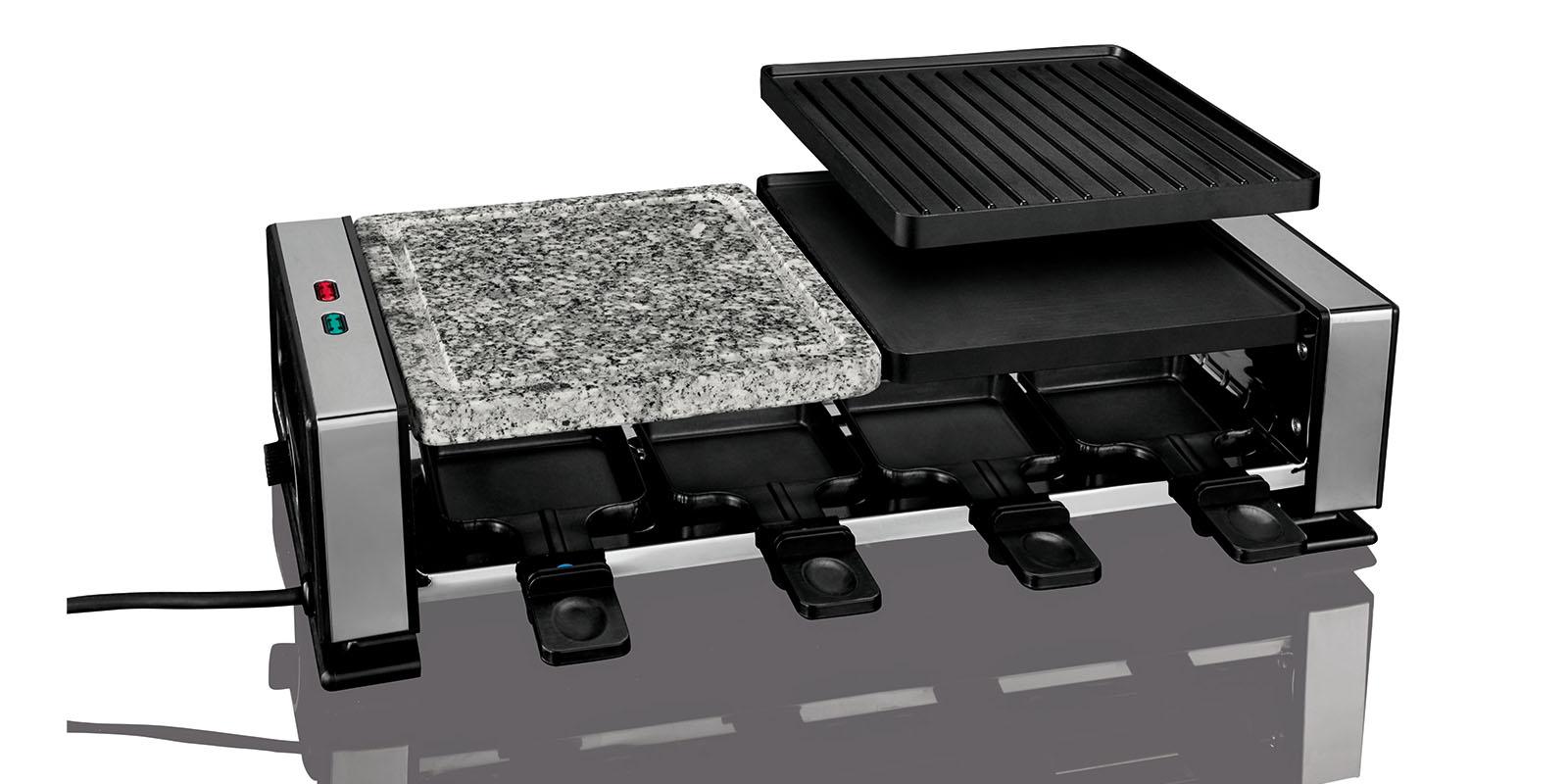 raclette grill hei er stein racletteger t ebay. Black Bedroom Furniture Sets. Home Design Ideas