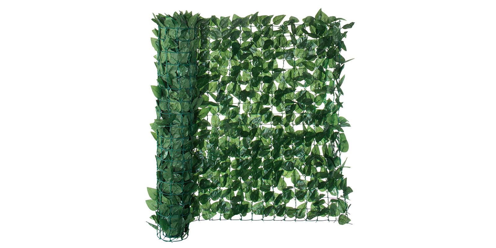 Garten Sichtschutz künstliche Hecke 3x1m Florabest