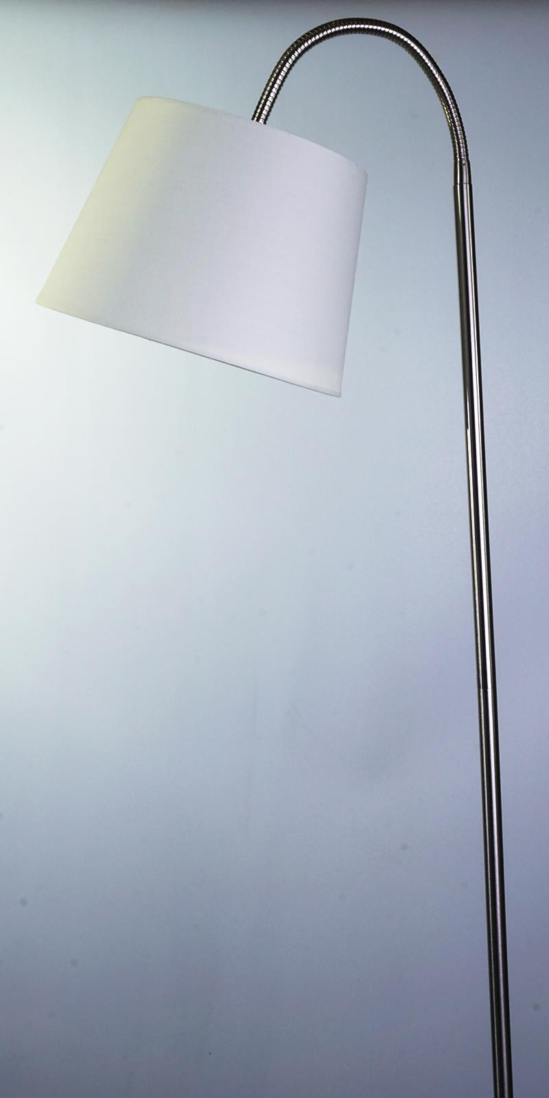 LED-STEHLEUCHTE CREME gebogen Leuchte Lampe EAN209 Livarno Lux - EUR ...