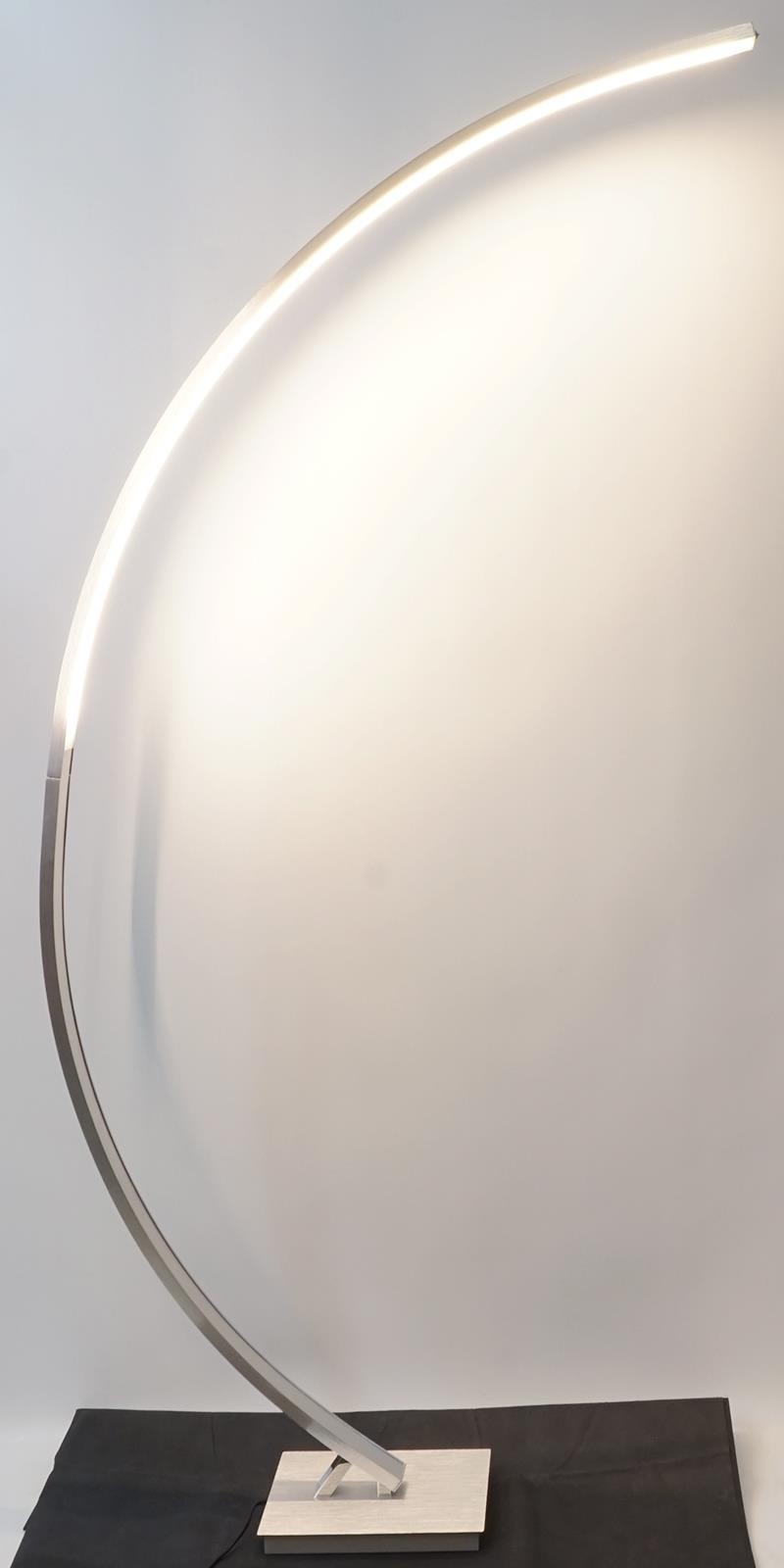 bogenleuchte led dimmbar ean770 livarno lux stehlampe standleuchte b ware eur 32 50 picclick de. Black Bedroom Furniture Sets. Home Design Ideas
