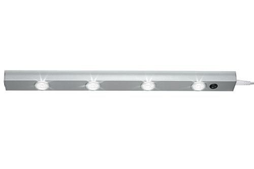 led lichtleiste 4leds unterbau livarno lux leiste leuchte ohne montagematerial ebay. Black Bedroom Furniture Sets. Home Design Ideas