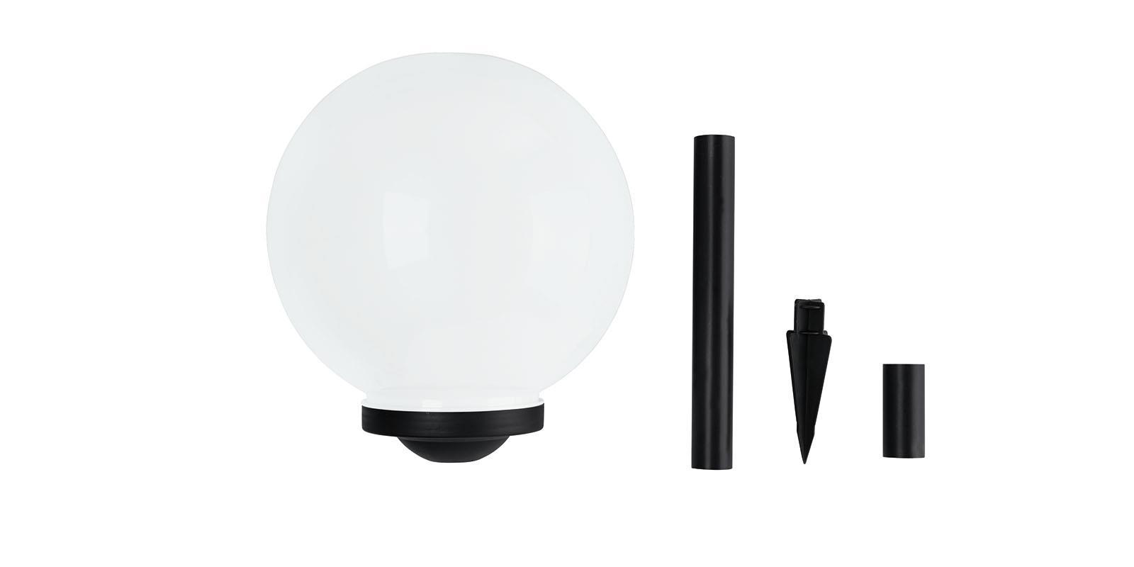 garten kugelleuchte led solar lichtkugel farbwechsel 25cm ebay. Black Bedroom Furniture Sets. Home Design Ideas