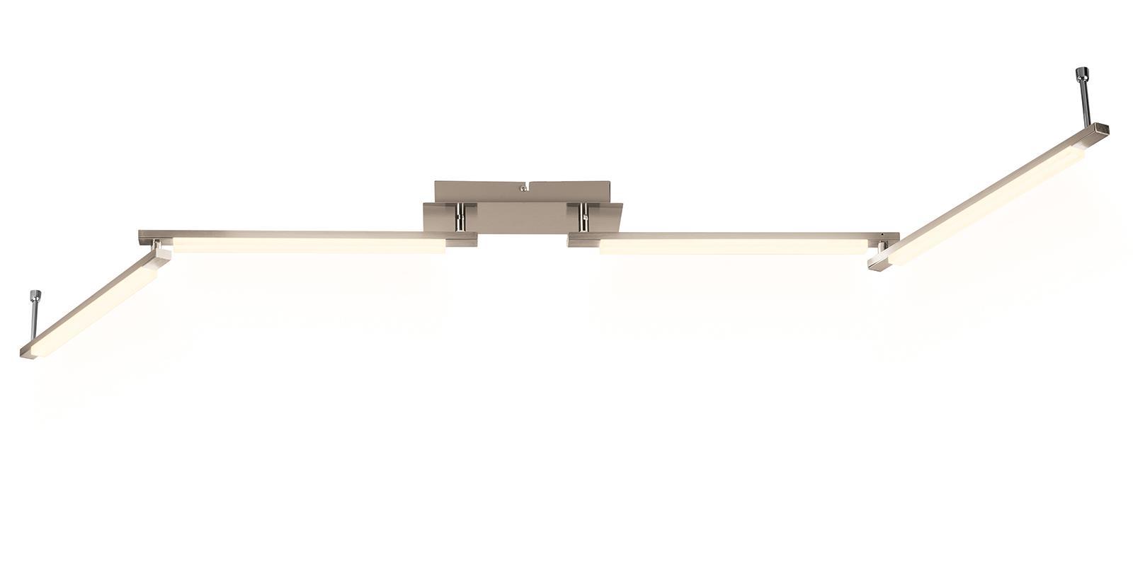 Led Deckenleuchte 4 Module Mit Beweglichen Armen Livarno Lux Lampe