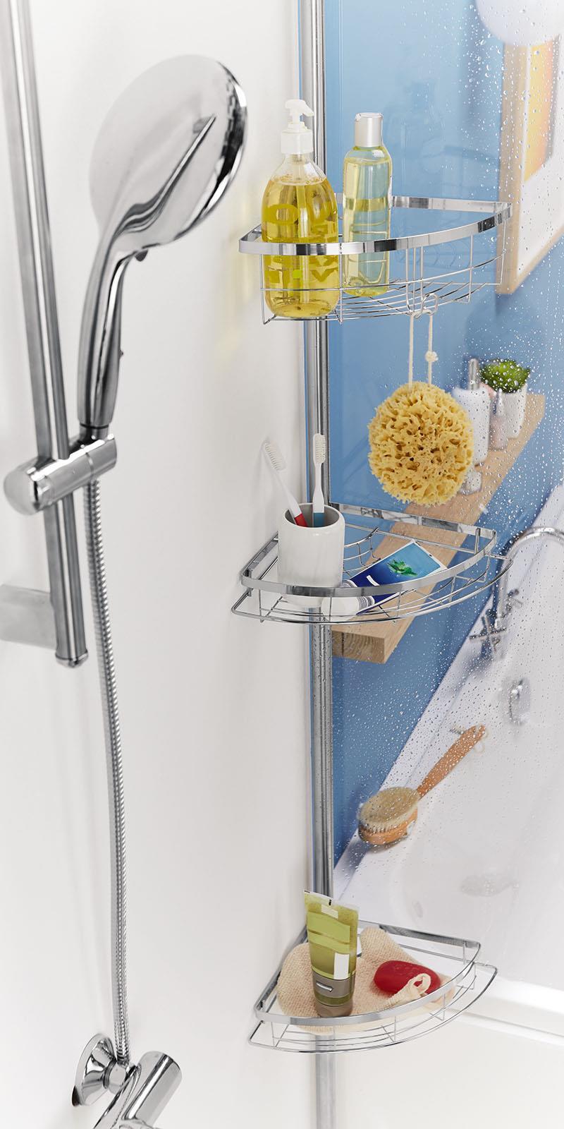teleskop badregal miomare 4333991037080 ebay. Black Bedroom Furniture Sets. Home Design Ideas
