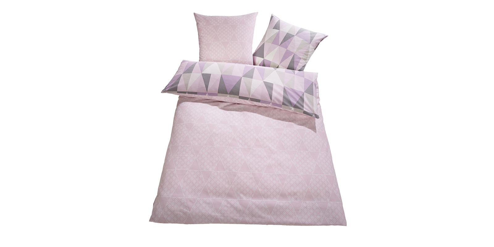 bettw sche wende feinbiber 200x220 anthrazit flieder bett bettw sche ean750 ebay. Black Bedroom Furniture Sets. Home Design Ideas