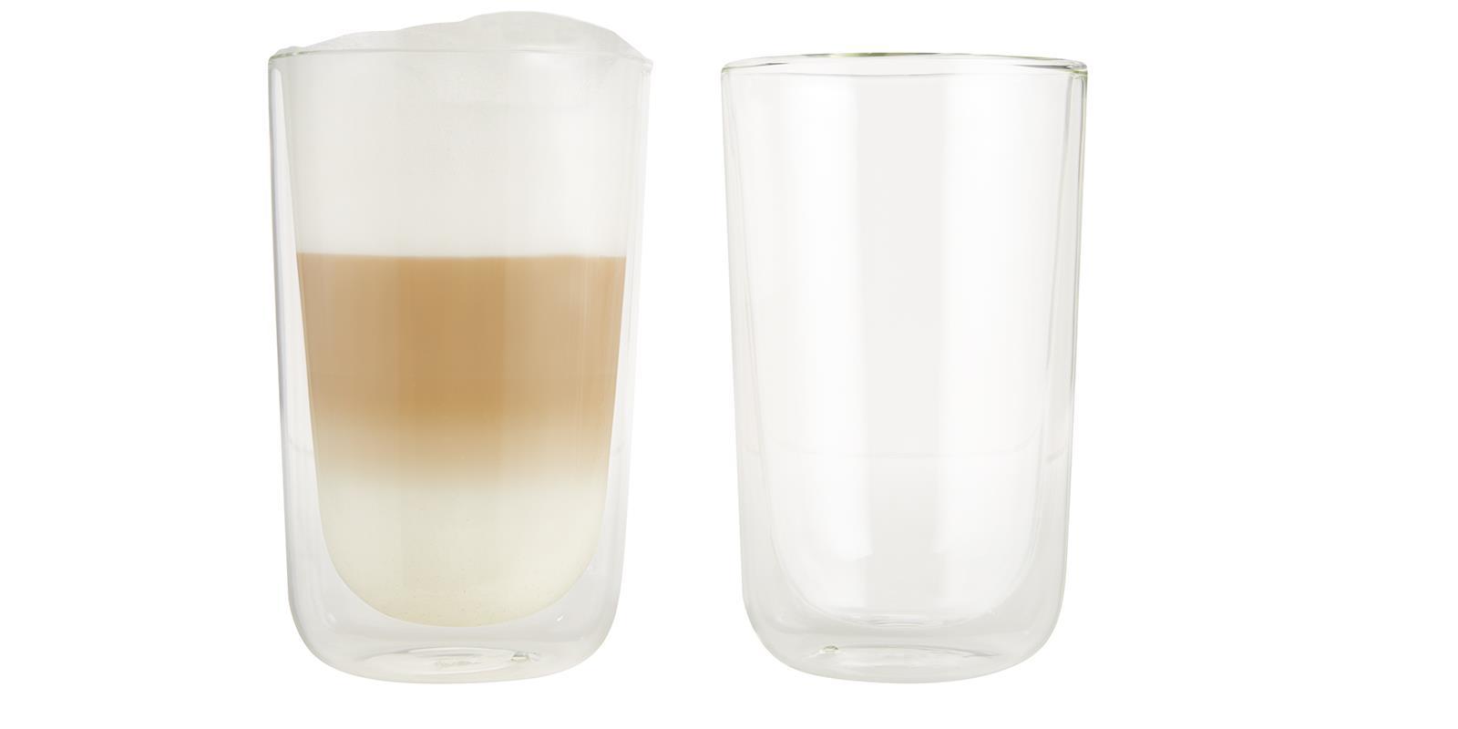 glas thermo latte macchiato 2er ernesto thermoglas doppelwandiges gl sser set ebay. Black Bedroom Furniture Sets. Home Design Ideas