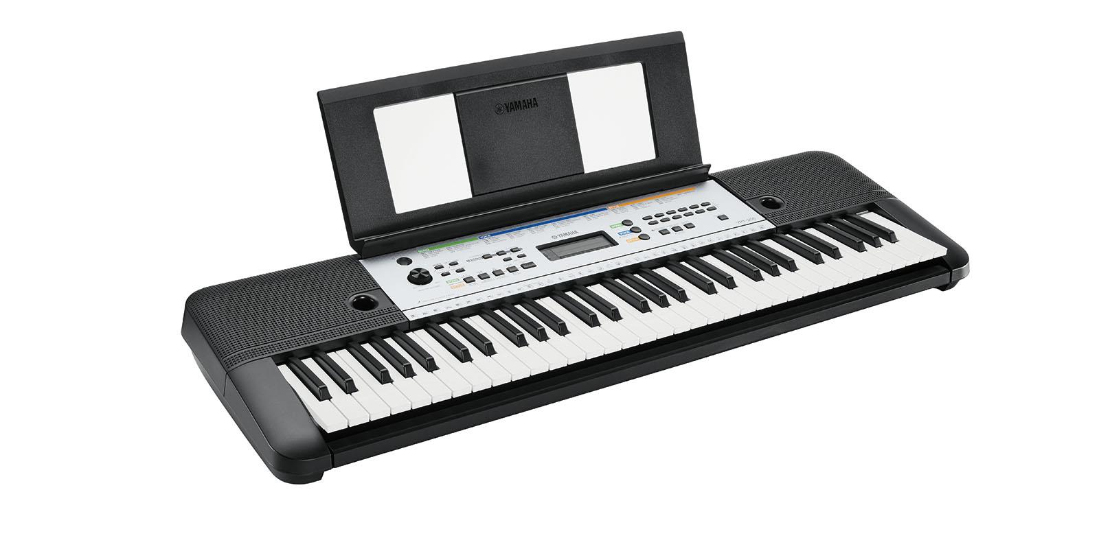 musik keyboard ypt 255 yamaha 61 tasten b ware ebay. Black Bedroom Furniture Sets. Home Design Ideas