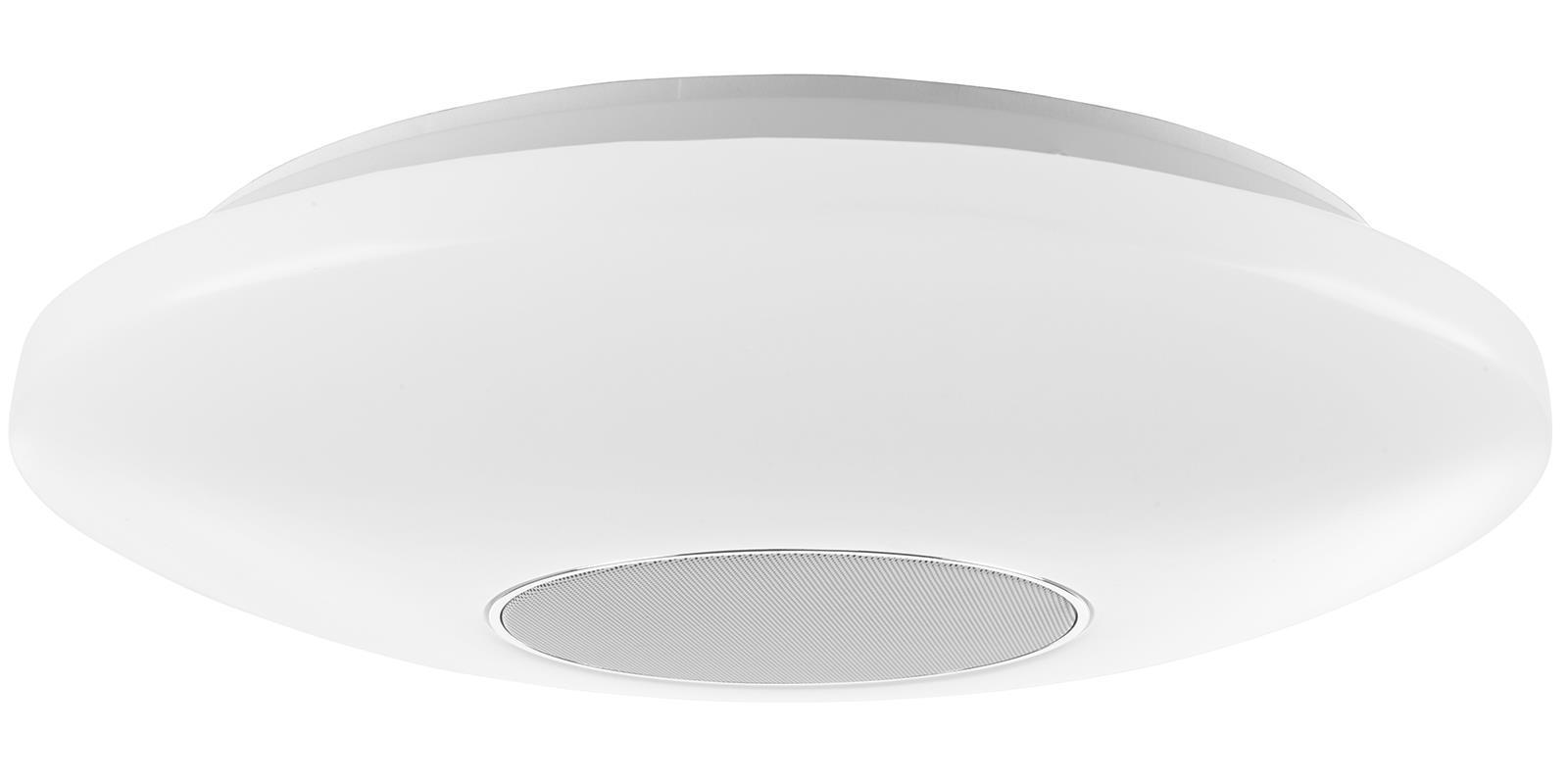 LED-Deckenleuchte mit Bluetooth-Lautsprecher Deckenlampe Lampe Leuchte Dimmbar