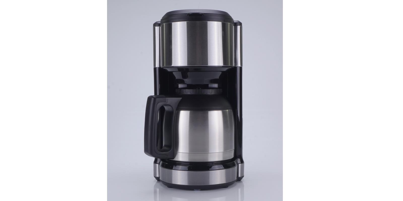 kaffeemaschine design eds mit thermoskanne timer skmd 1000 a1 schwarz kaffeeaut ebay. Black Bedroom Furniture Sets. Home Design Ideas