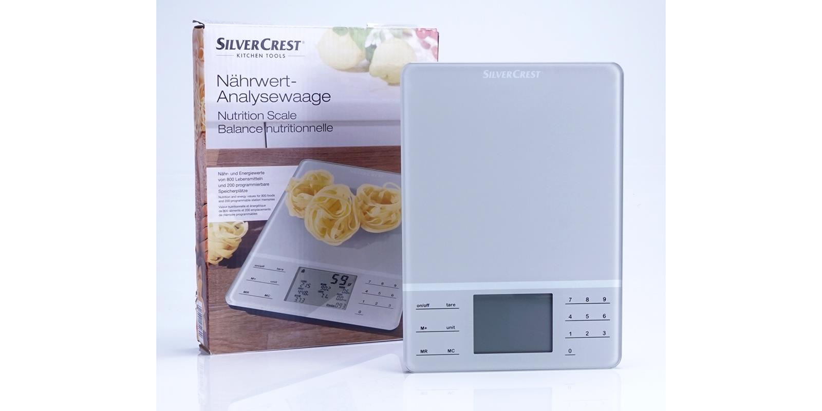 Silvercrest Nahrwert Analysewaage Snwd 1000 A1 Kuchenwaage Ebay
